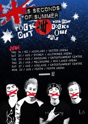 Seconds Of Summer Rock Your Socks Off Tour Dates