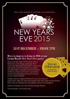 Burswood casino new years eve ballys wild west casino
