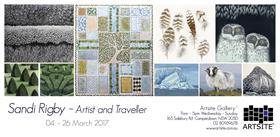 Sandi Rigby – Artist and Traveller
