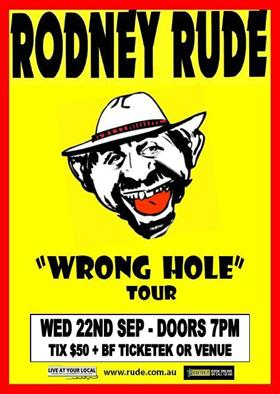 Rodney Rude Tour
