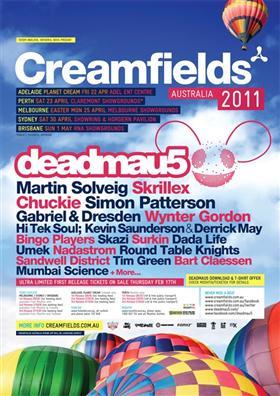 Creamfields Festival 2011